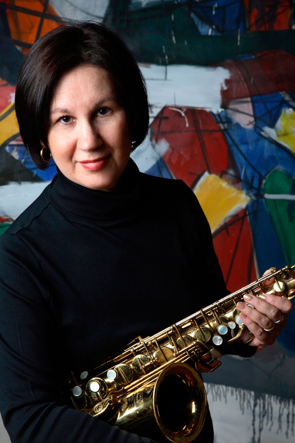 Libby Richman, saxophonist, composer
